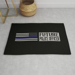 Police: Future Police Officer Rug