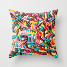 Extra Sprinkles  Throw Pillow