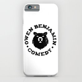Owen Benjamin Comedy iPhone Case