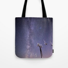 Chairlift  Tote Bag