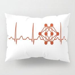 Physicist Heartbeat Pillow Sham