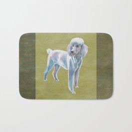 Standard Poodle Bath Mat