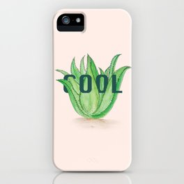 Aloe Vera by Kim Hoang iPhone Case