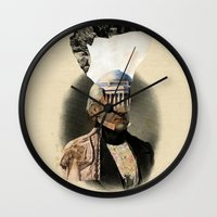 warrior Wall Clocks featuring Warrior by DIVIDUS