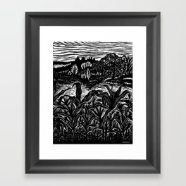 Young Corn Framed Art Print