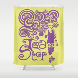 Tea Stop Shower Curtain
