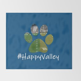 #HappyValley Throw Blanket