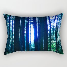 Blue June Rectangular Pillow