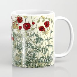 Shaking the wainscot where the field mouse trots Coffee Mug