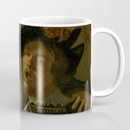 "Dirck van Baburen ""A duet"" Coffee Mug"