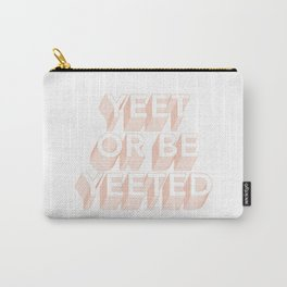 YEET | pink Carry-All Pouch