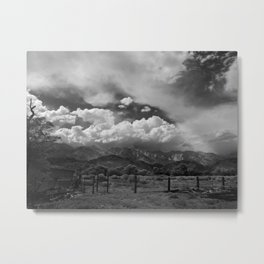 Lunch in Lone Pine Metal Print