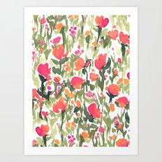 Heart's A Mess Art Print