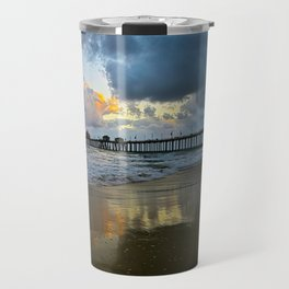 HB Sunsets  5/7/15   Huntington Beach, CA Travel Mug