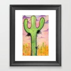 Cactipits Framed Art Print