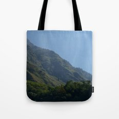 Lush Scenery Ghasa to Tatopani Tote Bag