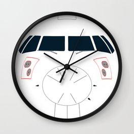Turboprop Nose Wall Clock