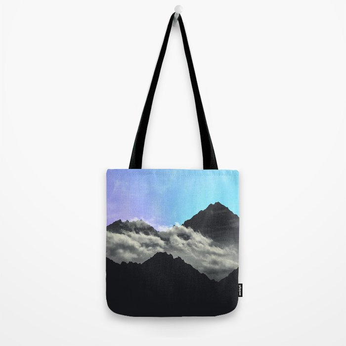 echo mountains Blue Tote Bag