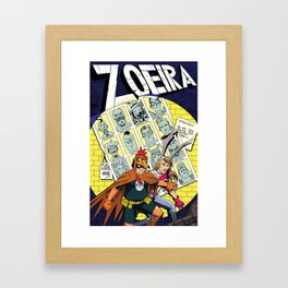 ZOEIRA: Days of future past Framed Art Print