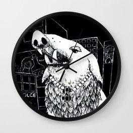 City Wildlife Wall Clock