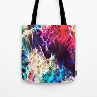 random Tote Bags featuring random by new art