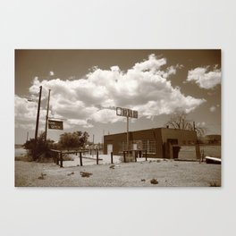 Route 66 in Arizona 2012 Canvas Print
