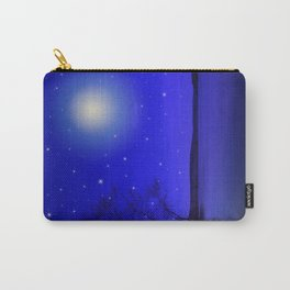 Moon and Stars Landscape Carry-All Pouch