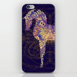 horse secrets iPhone Skin