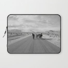 Spring Mountain Wild Horses Laptop Sleeve