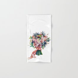 Wedding bouquet Hand & Bath Towel