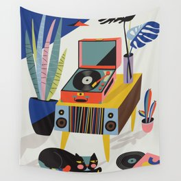 Chill out Saturday Wall Tapestry