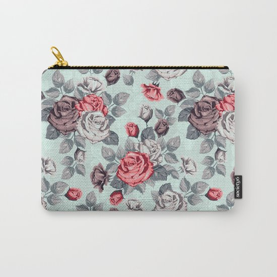 Flowers pattern2 Carry-All Pouch
