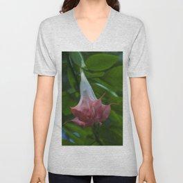 Floral Print 072 Unisex V-Neck