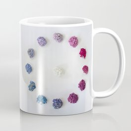 Circle of Hydrangea Coffee Mug