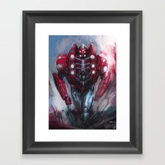 Heavy spider Framed Art Print