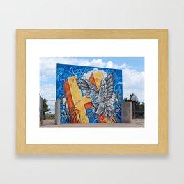 Salt Hawk Summer Framed Art Print