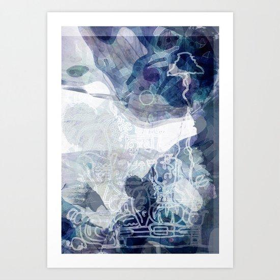 collage 4 Art Print