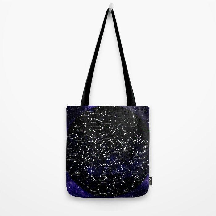 Celestial Map - Northern Hemisphere  Tote Bag