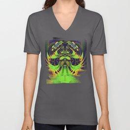 Rainbow Winged Serpent Unisex V-Neck
