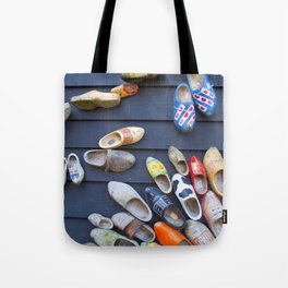 Wodden shoes Tote Bag