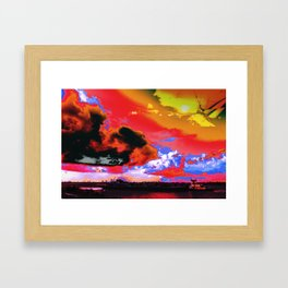 Boat's Requiem Framed Art Print