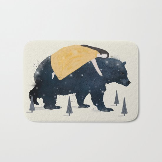 inner wilderness Bath Mat