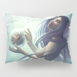 Fire and Water Pillow Sham
