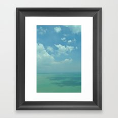 Sea of Blue. Framed Art Print
