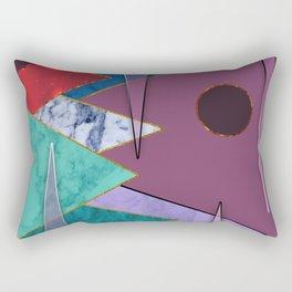 Abstract #405 Rectangular Pillow