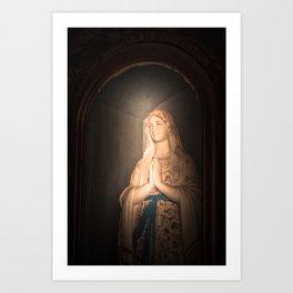 Mother of Immaculate Conception, St. Catejan's Church, Anjuna, Goa, India Art Print