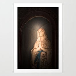 Mother of Immaculate Conception, St. Catejan's Church, Anjuna, Goa, India Art Print
