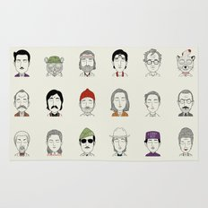 The Characters of W Rug