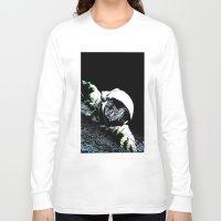 interstellar Long Sleeve T-shirts featuring Interstellar by Graziano Ventroni