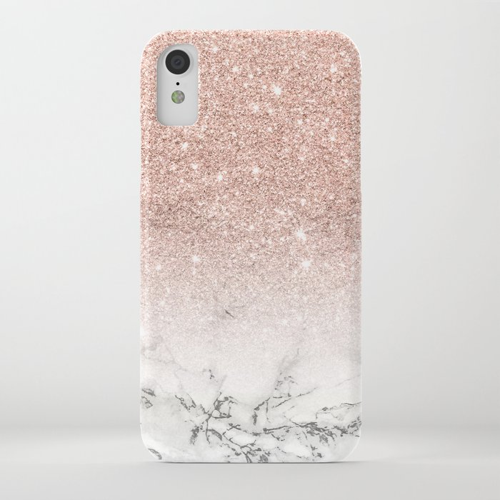 iphone xr case pink sparkle